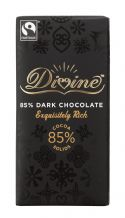 Divine Fairtrade Very Dark (85%) Chocolate 90g